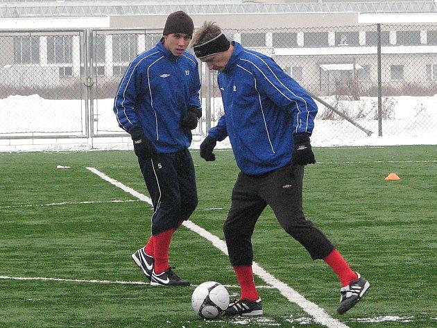 Zimní příprava 1.FC Brno v Šumperku.