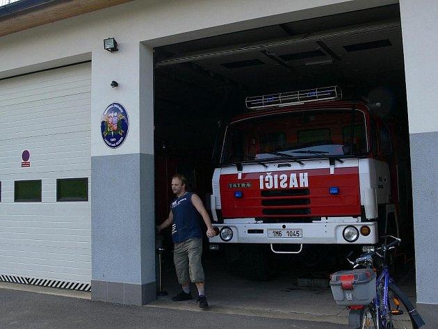 Vybavení loučenských hasičů
