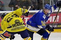 Hokejisté Šumperku v play-off proti Písku. Ilustrační foto