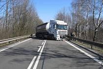 Srážka čtyř aut mezi Mohelnicí a Moravskou Třebovou.