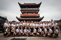 Zábřežští muzikanti v Číně.