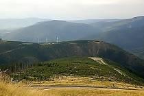 Pohled na Medvědí horu