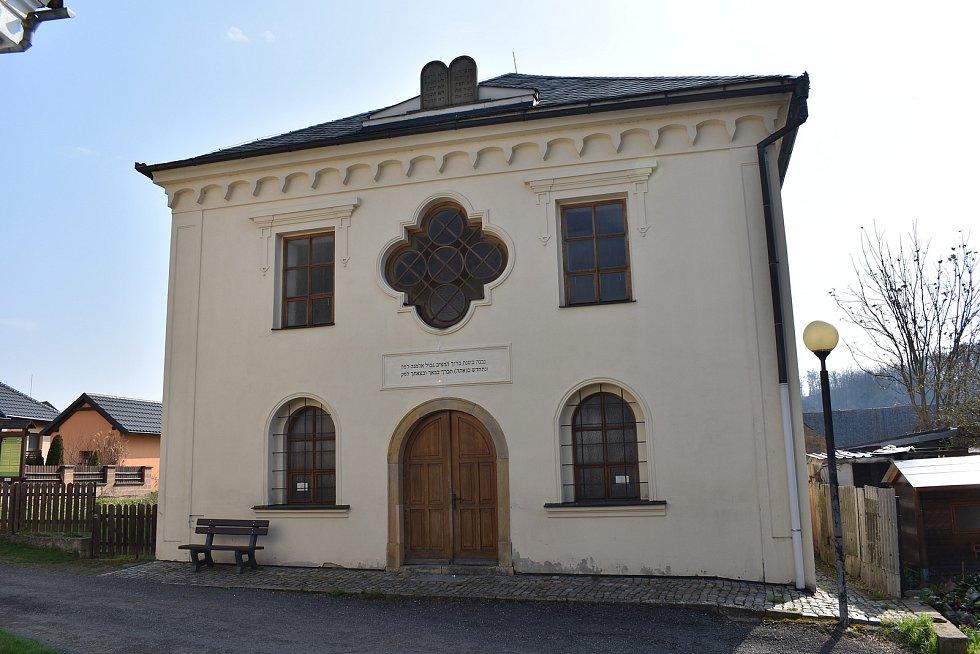 Město Úsov - synagoga
