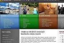 Nové oficiální webové stránky města Jeseníku