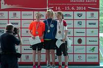 Veronika Minářová se stříbrnou medailí.
