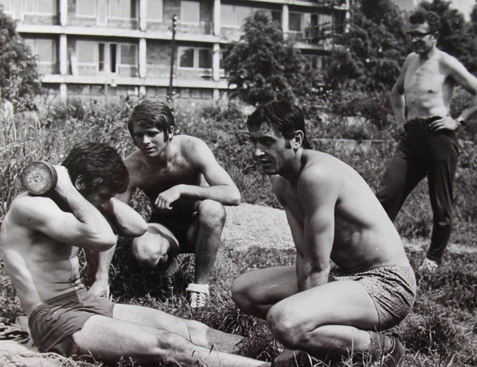 Letní příprava na sezónu 1972/73