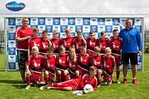 Na českobudějovickém Ondrášovka Cupu mladíci z FK Šumperk nezklamali. Mezi republikovou elitou byli čtrnáctí.