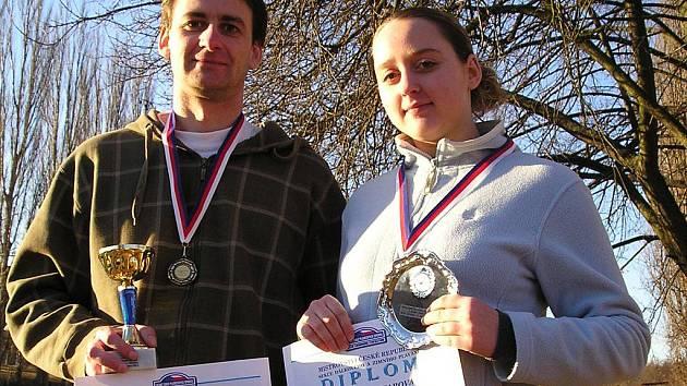 Milan Štencl a Denisa Haltmarová