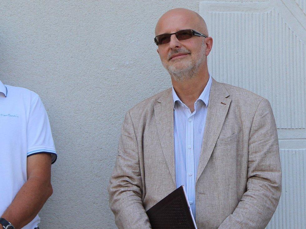 Tajemník Městského úřadu Šumperk Petr Holub (vpravo).