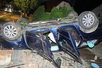 Nehoda v Bludově.