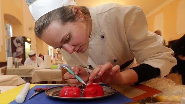 Lucie Hanková, Jeseník. Soutěž mladých cukrářů O Priessnitzův dortík