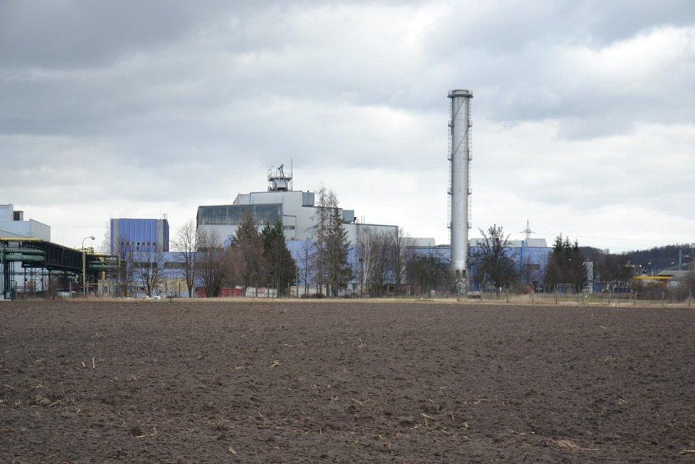 Bývalá městská teplárna Esmo v Mohelnici