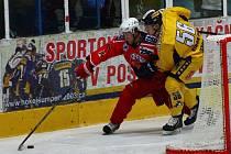 Hokejová příprava: Draci versus Havlíčkův Brod.