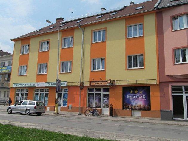 Dům Ivana Vavříka v Zábřehu, který je už sedmnáct let předmětem jeho sporu s městem