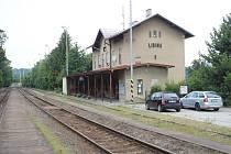 Železniční stanice Libina