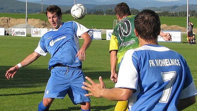 Mohelničtí fotbalisté
