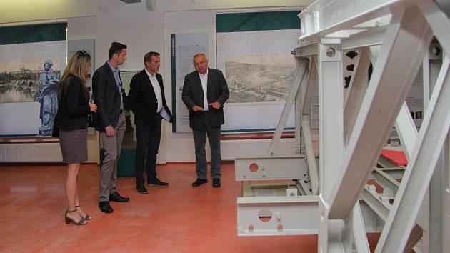 Nově otevřená expozice ve vikýřovickém Muzeu silnic věnovaná mostům.