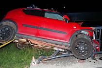 Havárie ve středu 26. srpna v Hanušovicích.