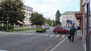 Podoba náměstí Osvobození v Zábřehu - půlka května 2019