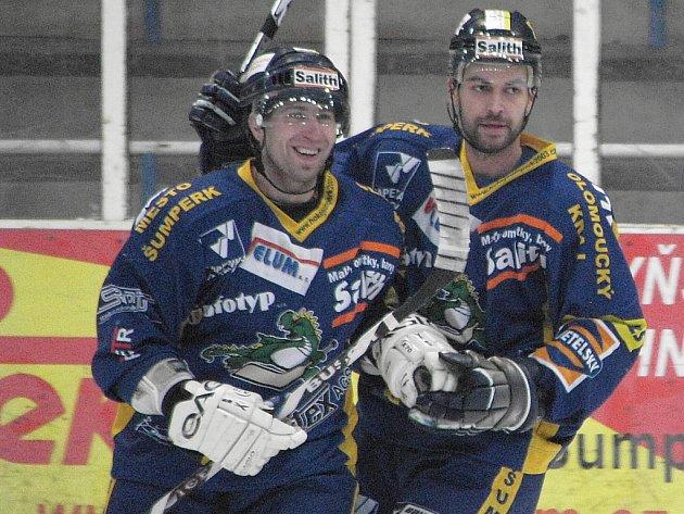 Lukáš Duba (vlevo)
