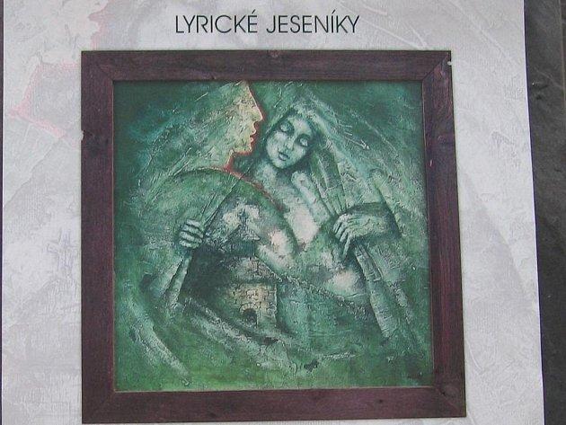 Detailní pohled na kalendář s obrazy Jaroslava Mináře a verši Miroslava Kubíčka