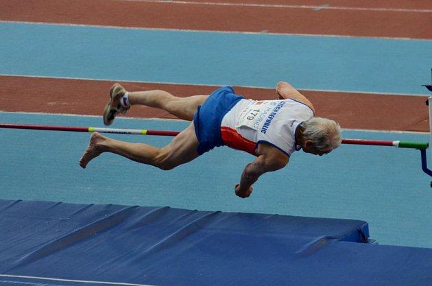 Květoslav Vykydal (na snímku) patřil k nejúspěšnějším šumperským zástupcům na španělském Mistrovství Evropy v atletice.