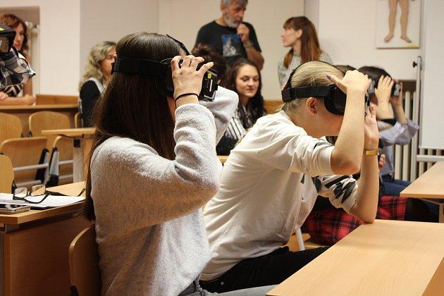 Virtuální anatomická učebna na SZŠ Šumperk
