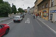 Původní podoba ulice Žižkova v roce 2011