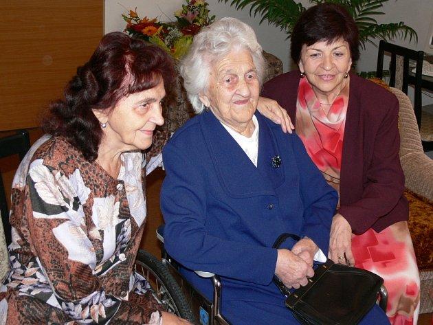 Helena Navrátilová z Mohelnice loni slavila 104 let.