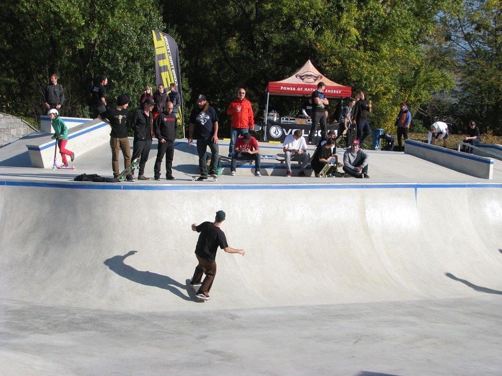 Skatepark v Šumperku.