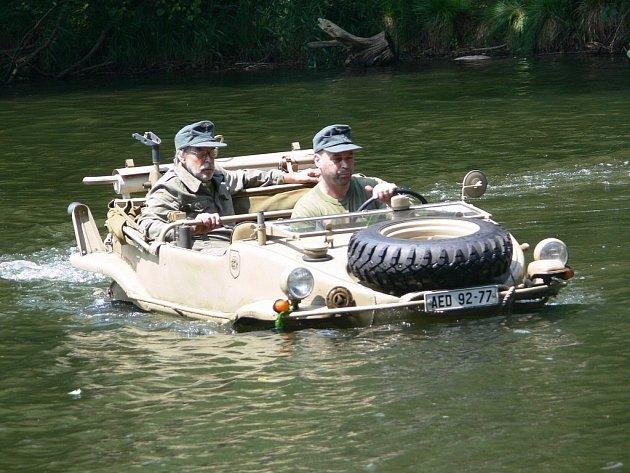 Snímek z předchozího srazu veteránů.