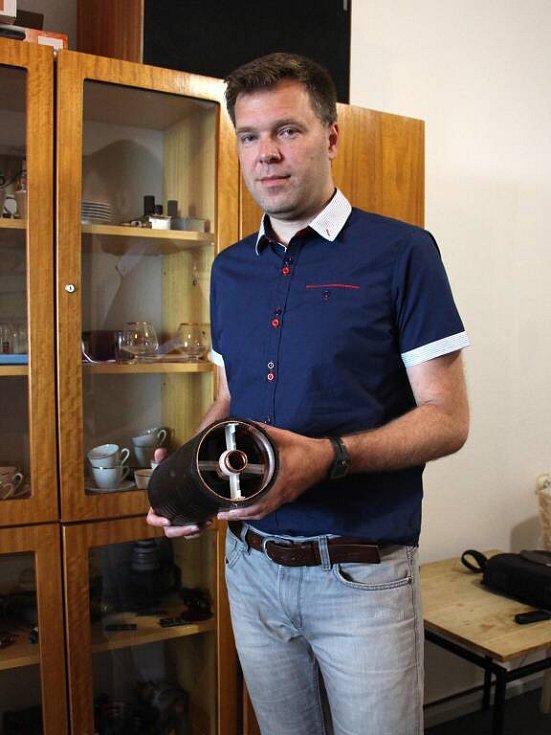 Michal Kozák, technik a správce budovy vysílače Praděd