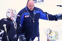 První trénink Draků na ledě v sezoně 2011-2012