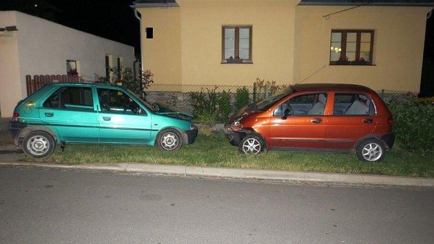 Řidička havarovala v Reissově ulici.