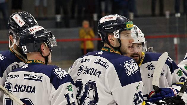 Šumperští hokejisté. Ilustrační foto