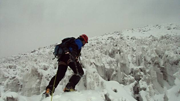 Zdeněk Mikula a Vít Olžbut zdolali několik vrcholův ekvádorských Andách.
