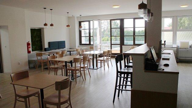 Hotel Sport v Šumperku má za sebou část rekonstrukce