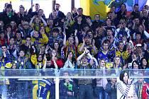 Fanoušci Draků na snímku z loňské sezony
