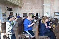 Pětadvacet amerických studentů přijelo do Loštic v rámci poznávací cesty Holocaust Study Tour.