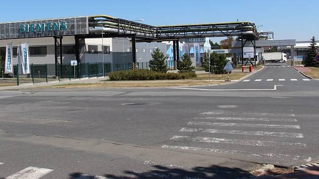 Závod Siemens v Mohelnici.
