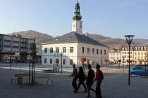 Rekonstruované Masarykovo náměstí v Jeseníku
