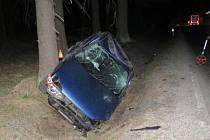 Nehoda na silnici I/11 vúseku mezi Rýmařovem a Sobotínem, 23. 4. 2019
