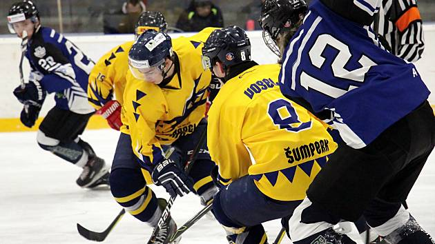 Junioři Šumperku v utkání s Havířovem