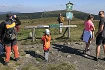 Turisté v Jeseníkách. Ilustrační foto