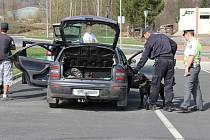 Policisté zkontrolovali přes 500 aut.