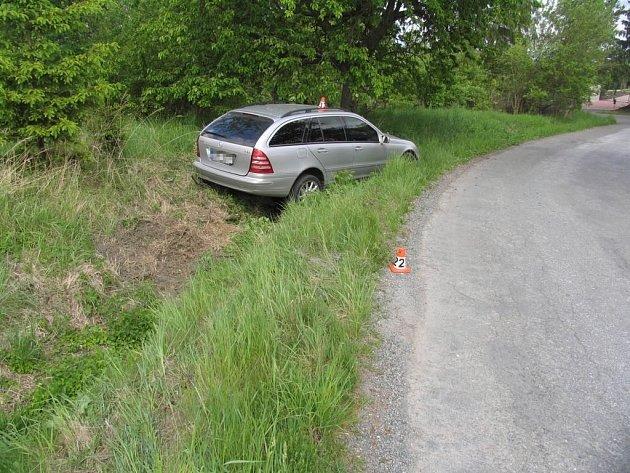 Řidič z Brněnska havaroval v Lošticích.