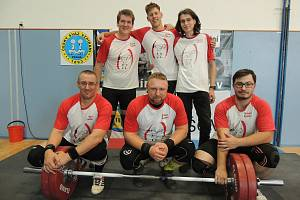Šumperští vzpěrači na soutěži v Holešově