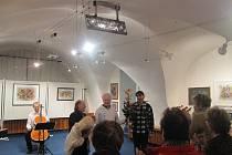 Zábřežská Galerie Tunklův dvorec se loučí. Na  21. listopadu sezvala  své příznice, přátele a sponzory. Užili si to všichni.