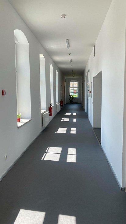 Prostory domova sv. Františka v Javorníku při slavnostním otevření.