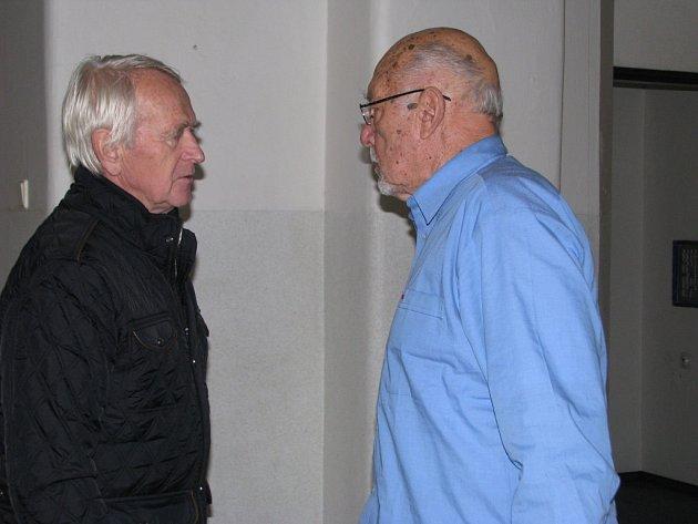 Setkání učitelů v Masarykově škole v Šumperku.